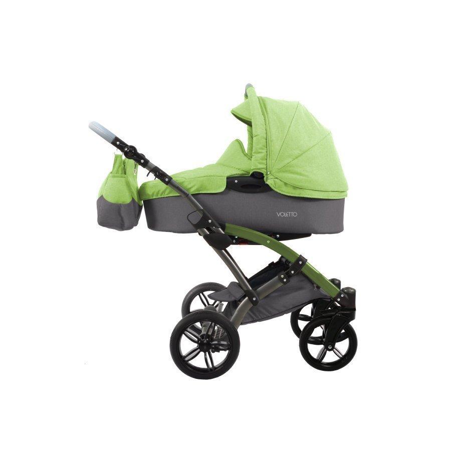 Knorr Baby Voletto Happy Colour Harmaa Vihreä Yhdistelmävaunut