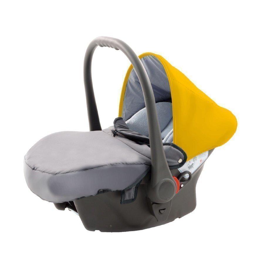 Knorr Baby Voletto Sport Harmaa Oranssi Turvakaukalo