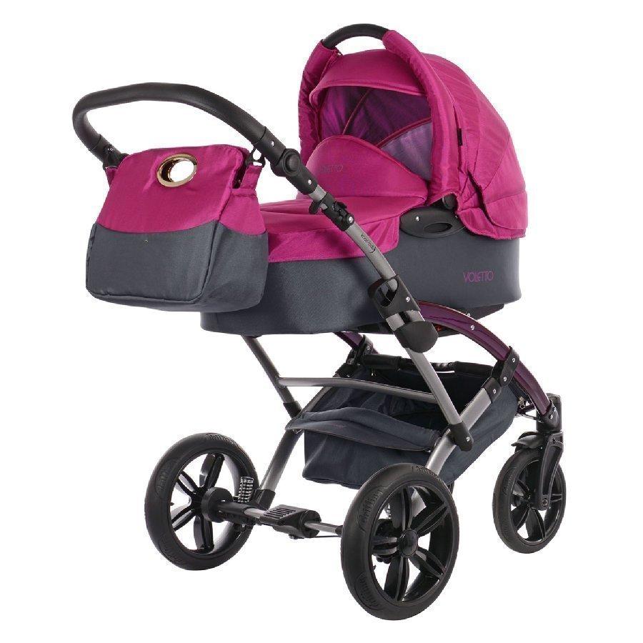 Knorr Baby Voletto Sport Harmaa Pinkki Yhdistelmävaunut