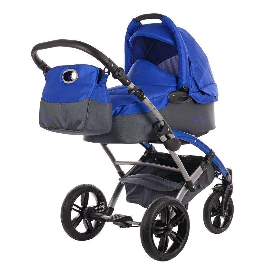 Knorr Baby Voletto Sport Harmaa Sininen Yhdistelmävaunut