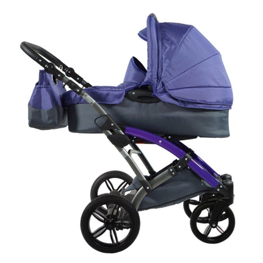 Knorr Baby Voletto Sport Harmaa Violetti Yhdistelmävaunut