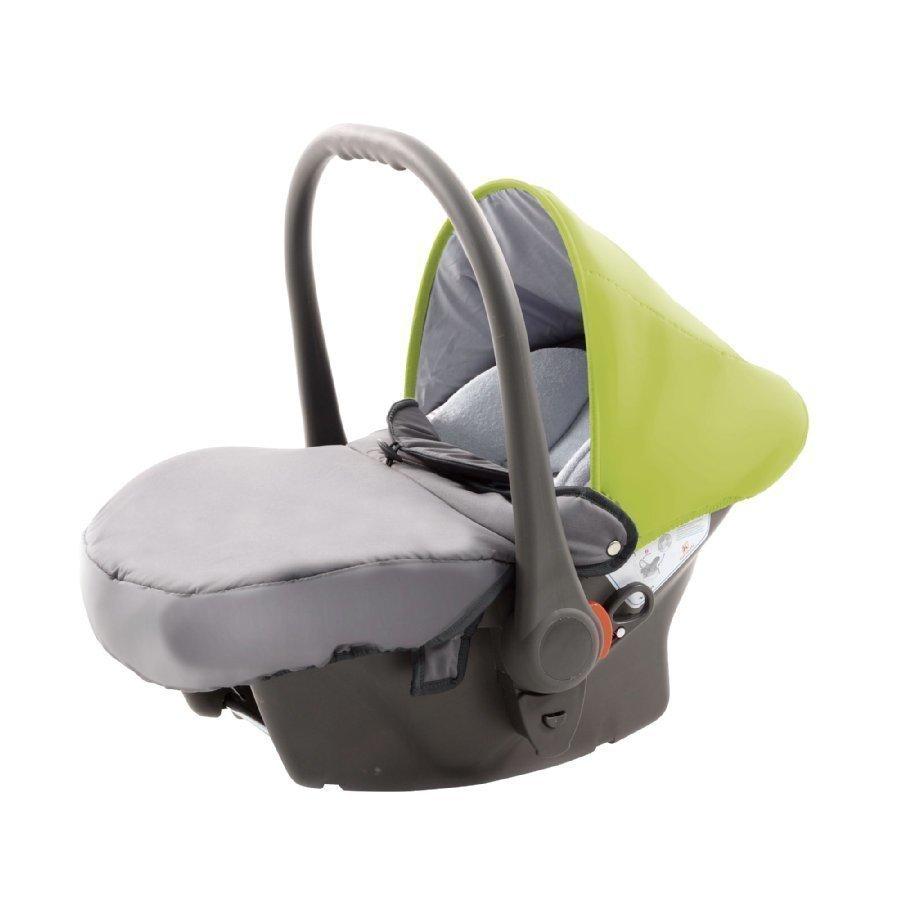 Knorr Baby Voletto Sport Musta Keltainen Turvakaukalo