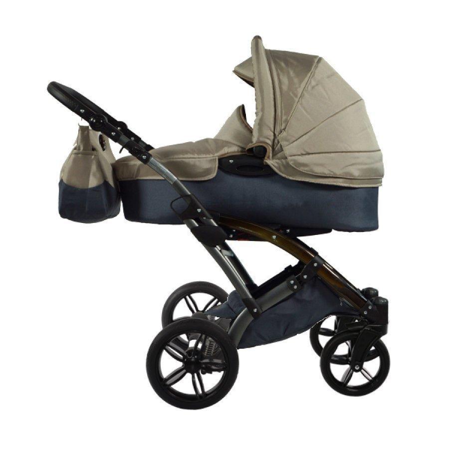 Knorr Baby Voletto Sport Musta Ruskea Yhdistelmävaunut