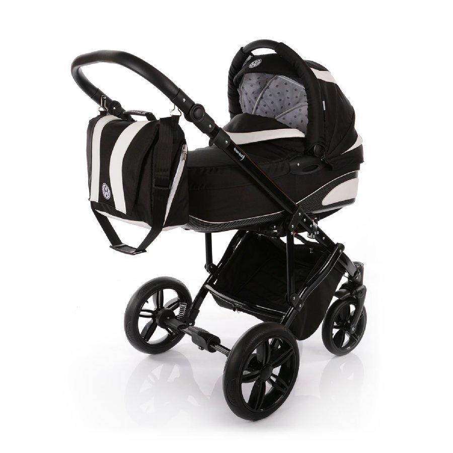 Knorr Baby Volkswagen Carbonoptik Musta Yhdistelmärattaat