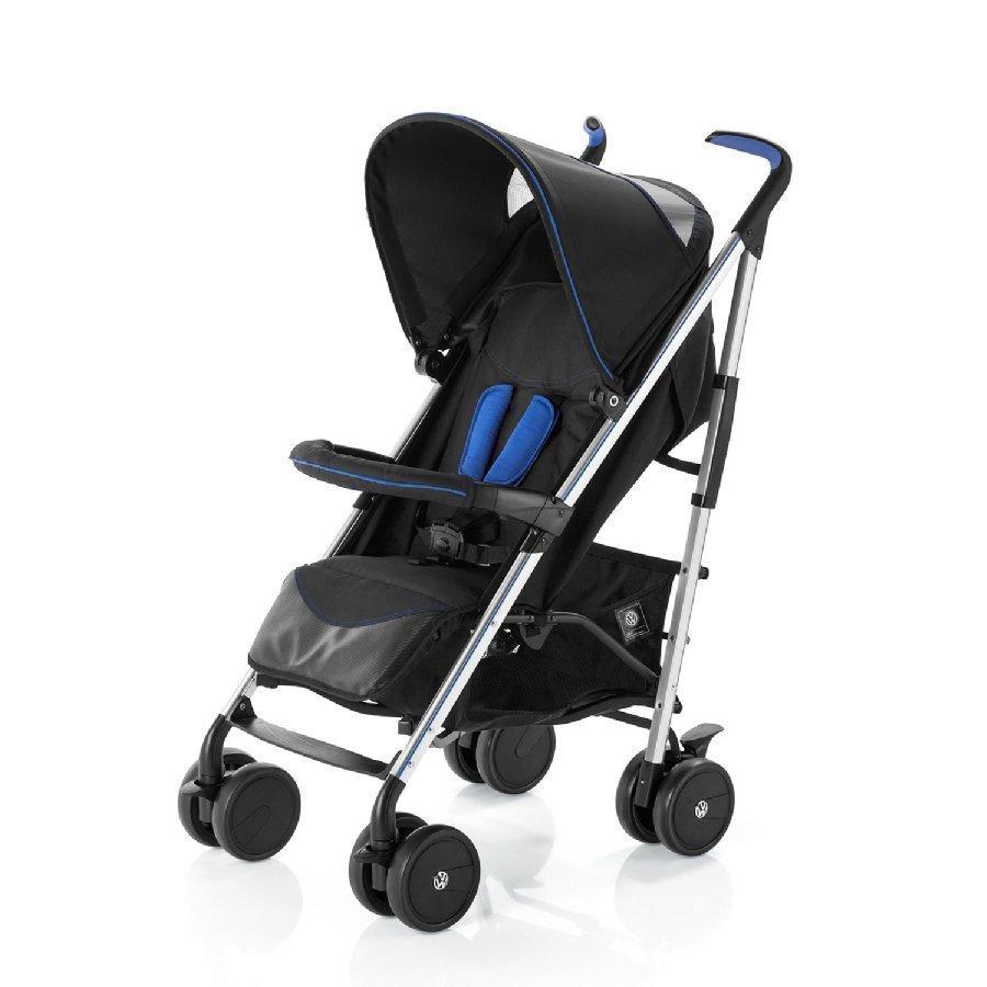 Knorr Baby Volkswagen Convert Musta / Sininen Matkarattaat