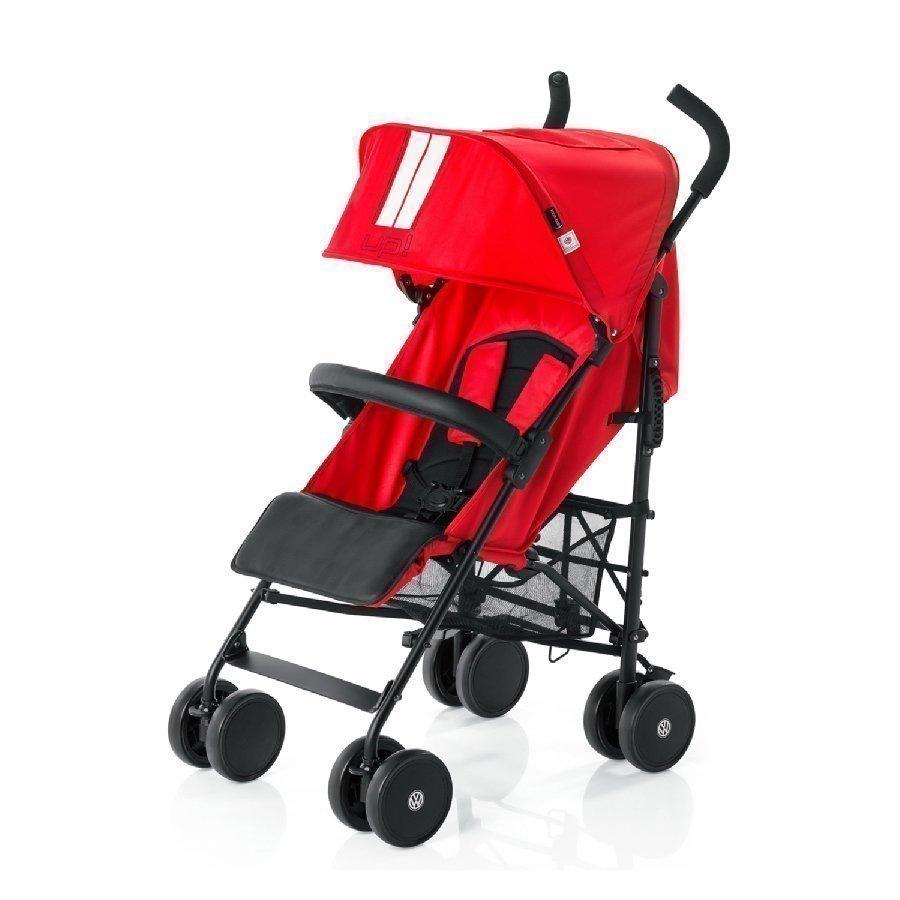 Knorr Baby Volkswagen Up! Punainen Matkarattaat