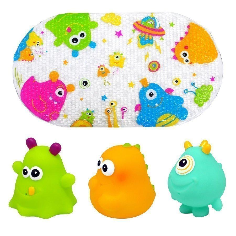 Knorr Toys Escabbo Kylpymattosetti Happy Monster