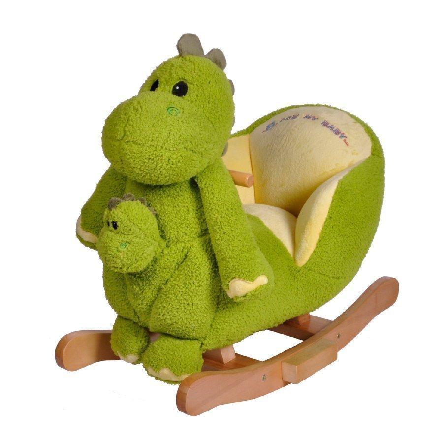 Knorr Toys Keinueläin Dino Sis. Äänitoiminnon Ja Käsinuken