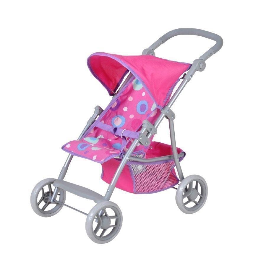 Knorr Toys Liba Nuken Matkarattaat Pink Slash