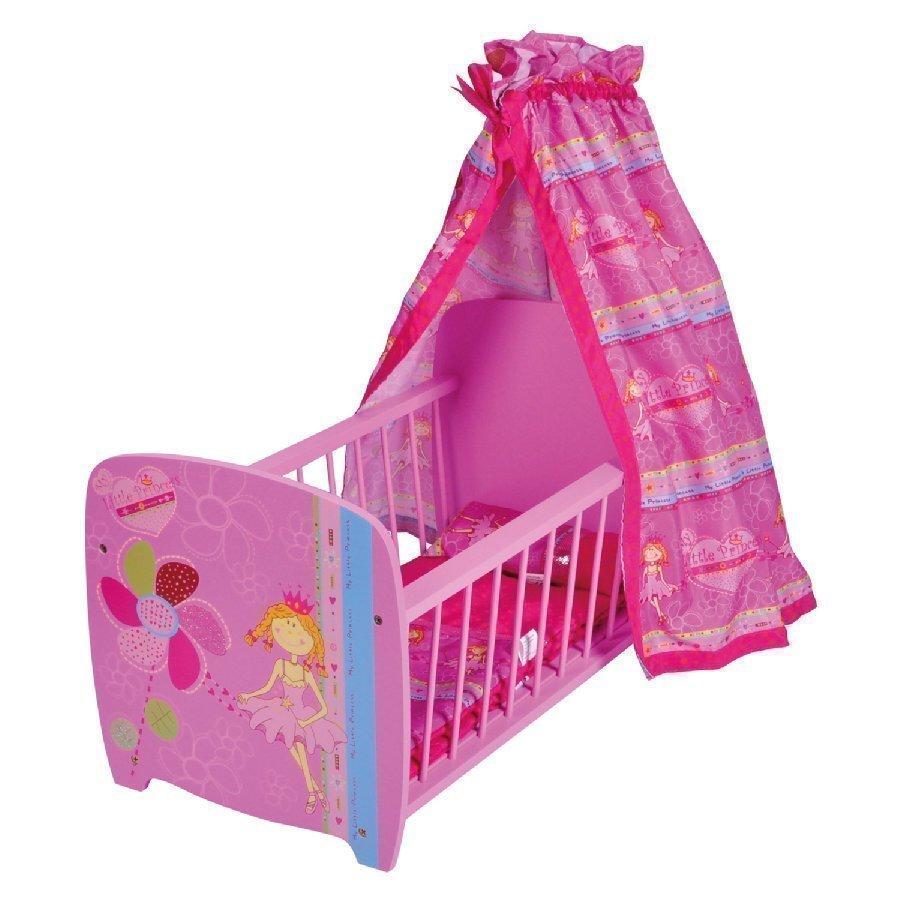 Knorr Toys Nuken Katosvuode My Little Princess Vaaleanpunainen