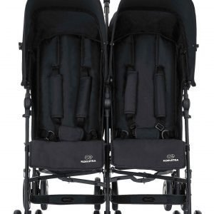 Koelstra Simba Twin T4 Matkarattaat Black