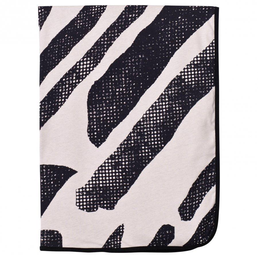 Koolabah Black Lines Blanket Pink/Black Huopa