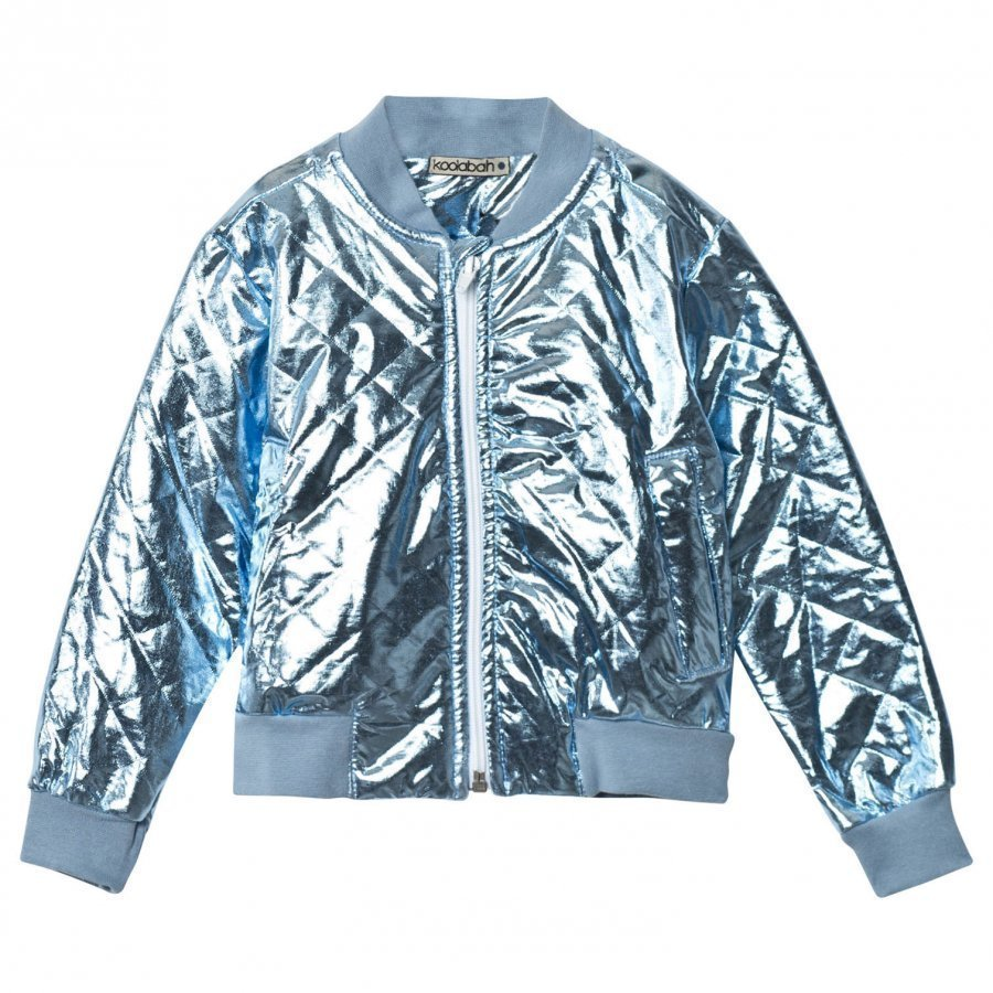 Koolabah Metallic Blue Jacket Light Blue Tikkitakki