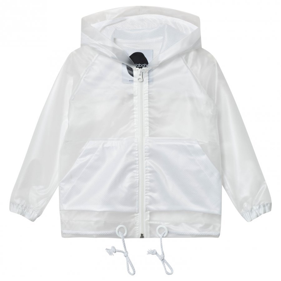 Koolabah Rain Jacket Transparent White Sadetakki