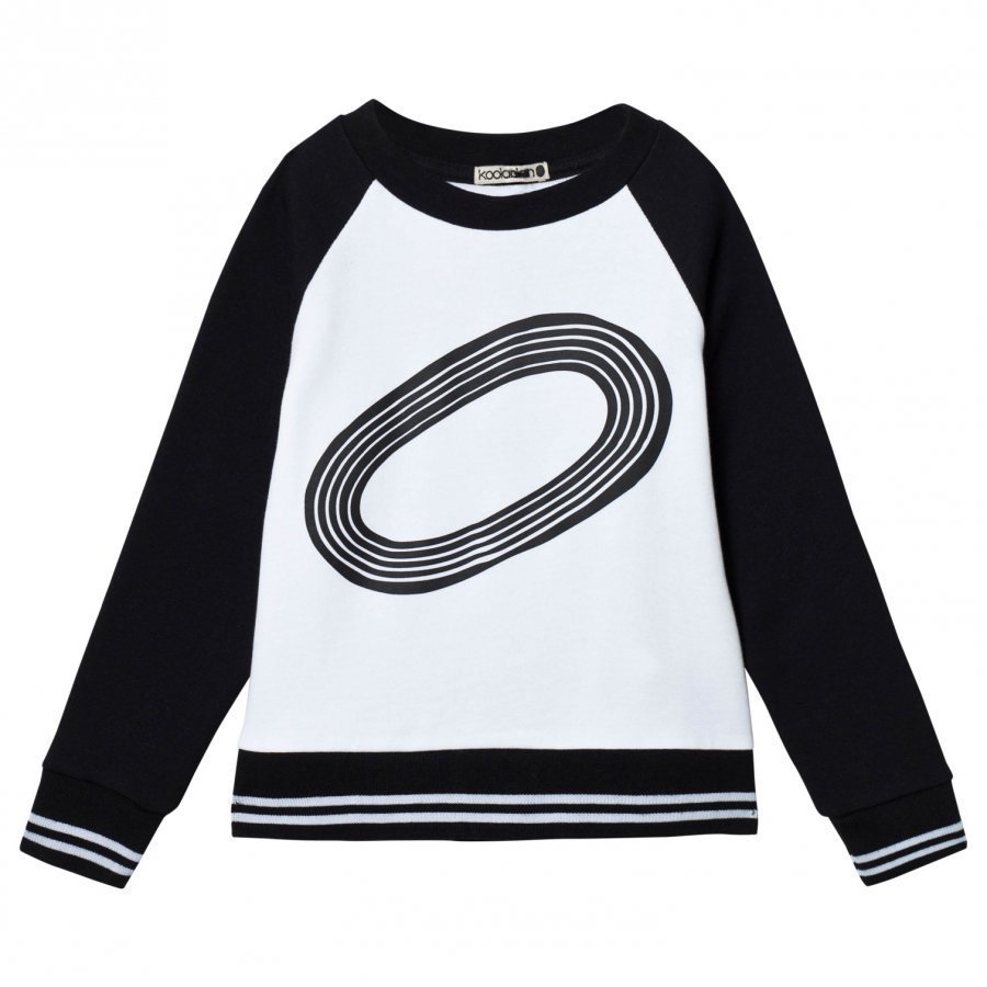 Koolabah Stadium Sweater Black/White Oloasun Paita
