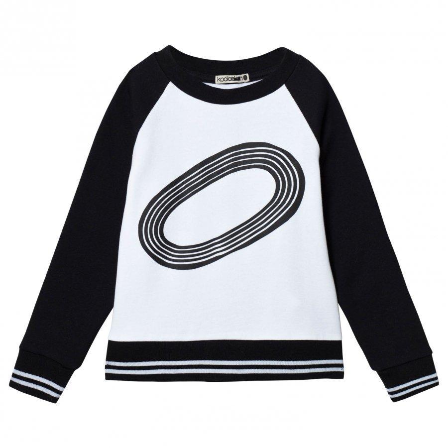 Koolabah Stadium Sweater Black/White Oloasun Paita