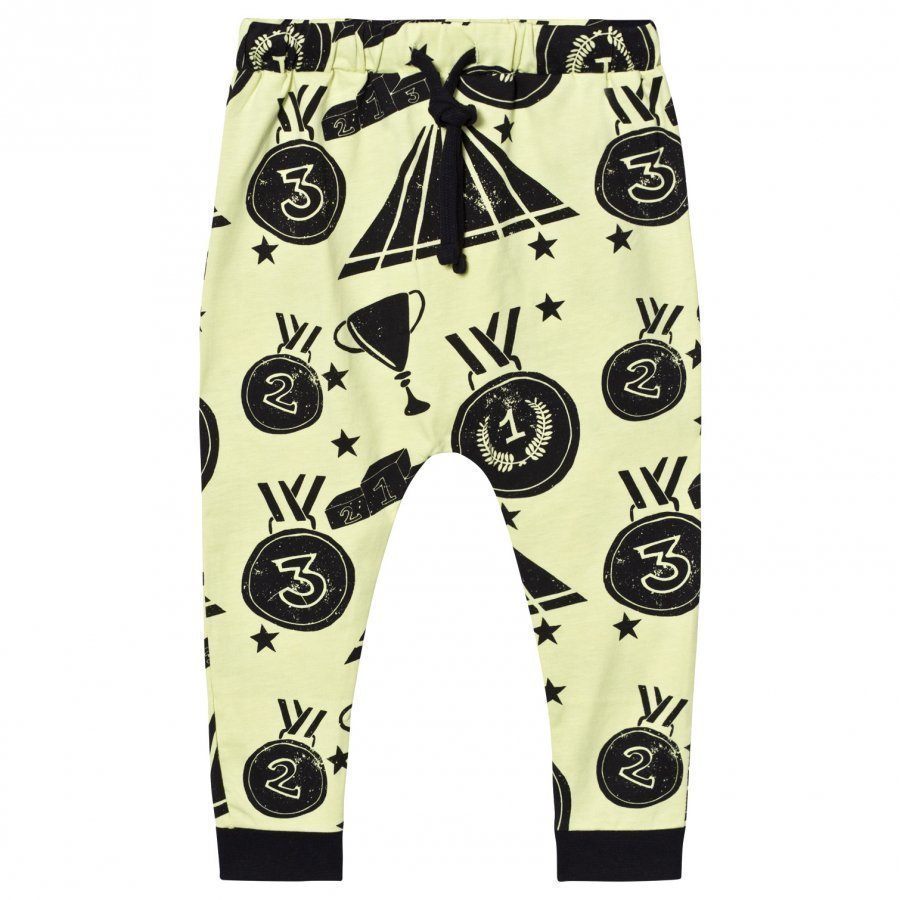 Koolabah Victory Slouch Pants Yellow/Black Housut