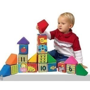 K's Kids Suuret Rakennus- Ja Opetuspalikat