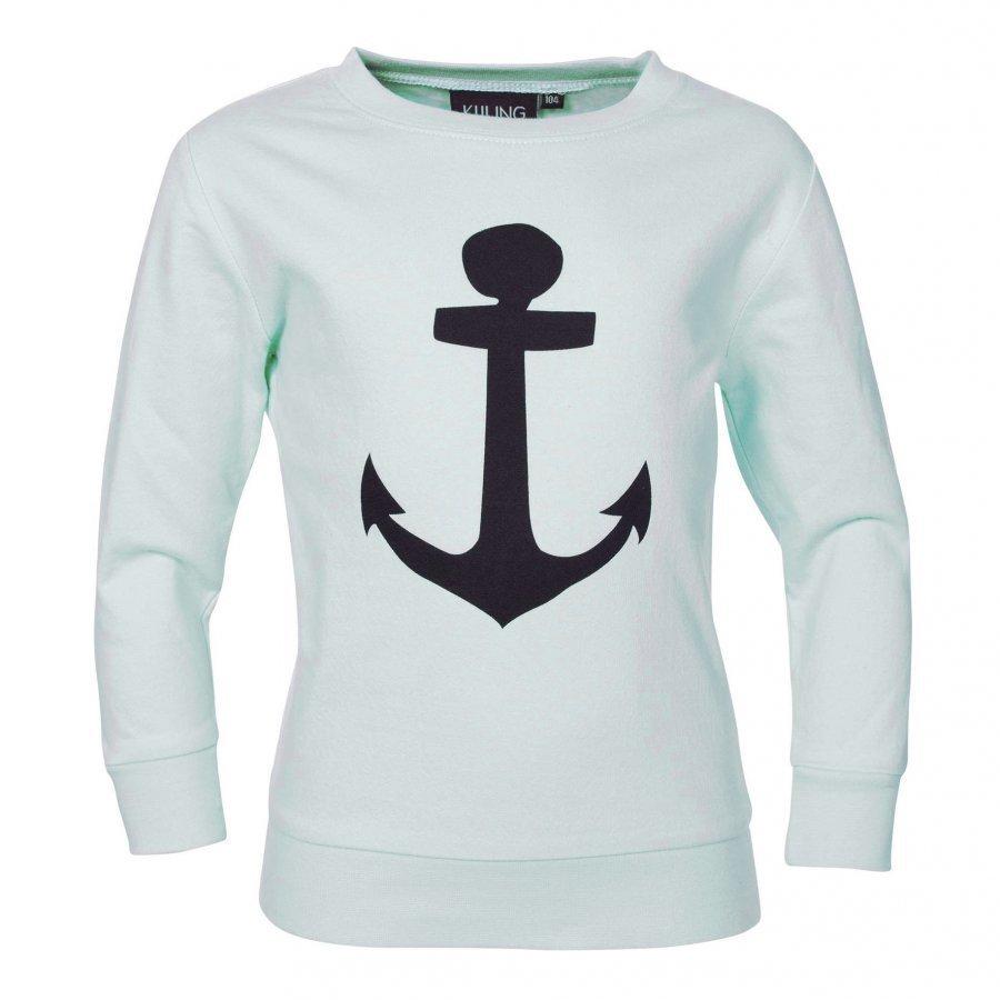 Kuling Basic Sweatshirt Ankare Mint/Svart Oloasun Paita
