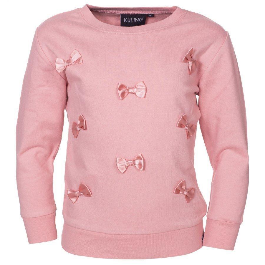 Kuling Basic Sweatshirt Rosetter Old Pink Oloasun Paita