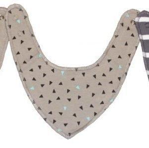 Kuling Kuolalappu/vauvanhuivi 3 kpl Dusty Grey