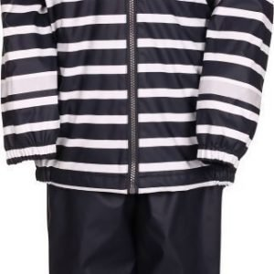 Kuling Outdoor Sadeasu Fleece Stripe Navy