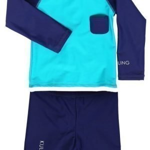 Kuling Outdoor UV-asu Navy/Aqua