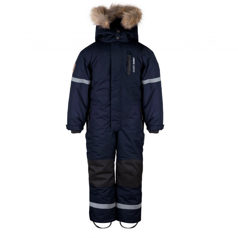 Kuling Outdoor Vinteroverall Navy Toppahaalari
