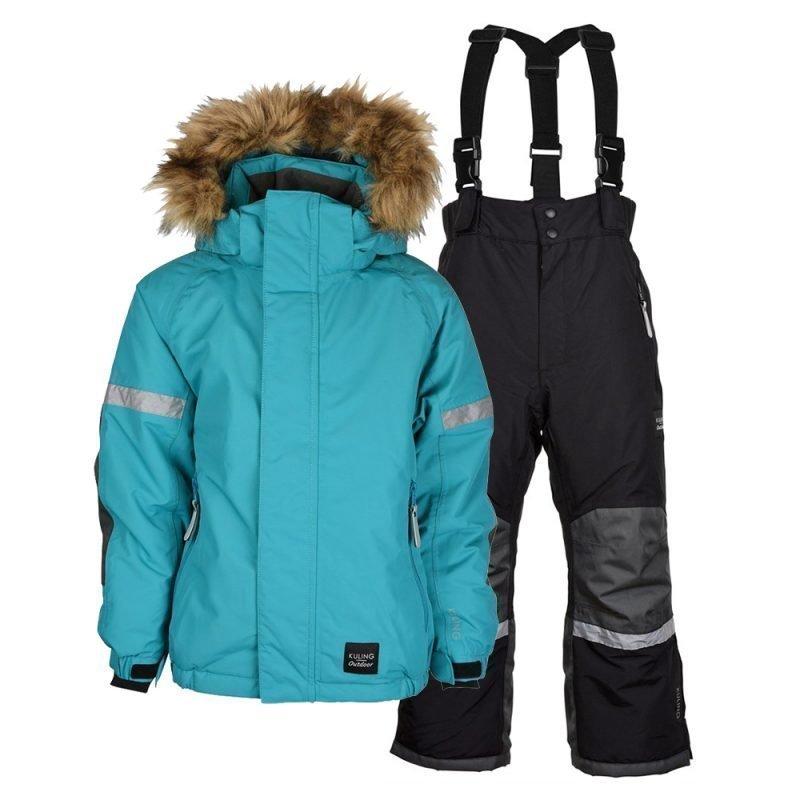 Kuling Snö Talvipaketti Turquoise