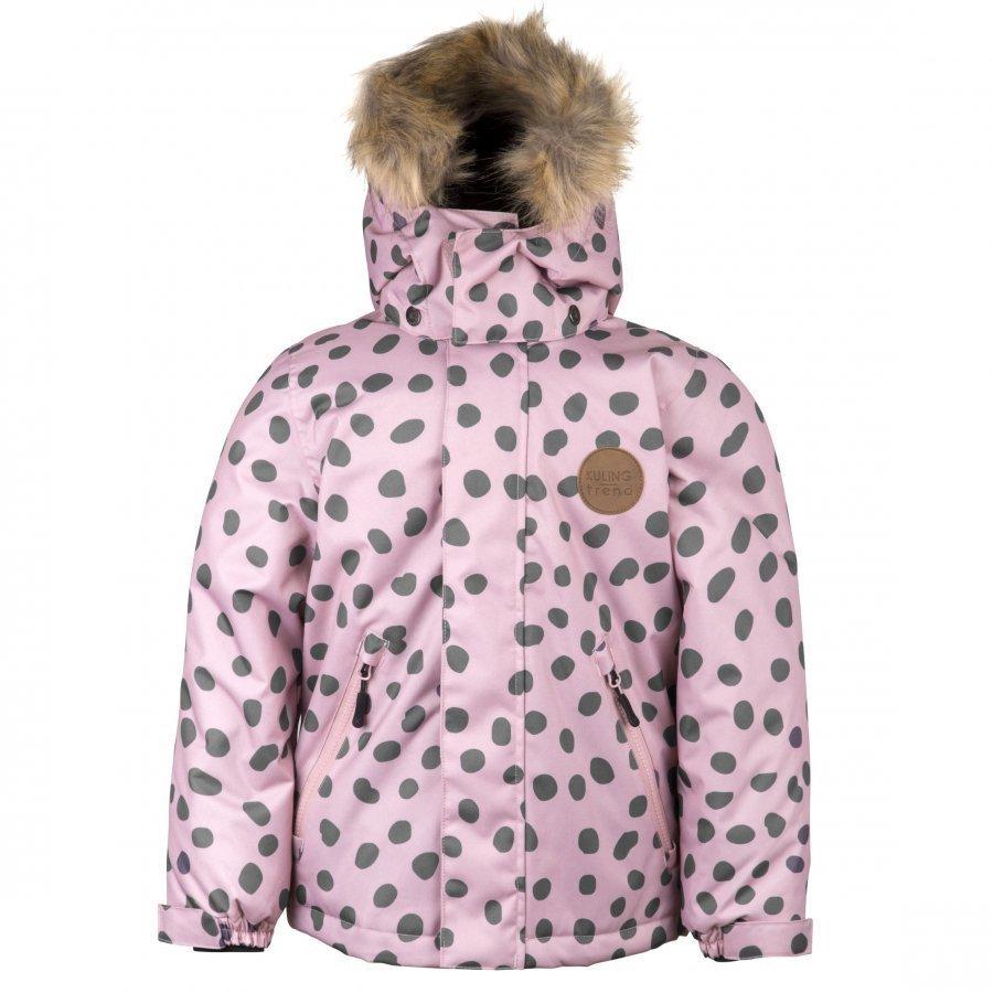 Kuling Trend Vinterjacka Pink Dots Talvitakki