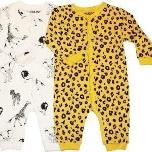 Kuling Yöpuku Vauvan 2 kpl Dusty Yellow