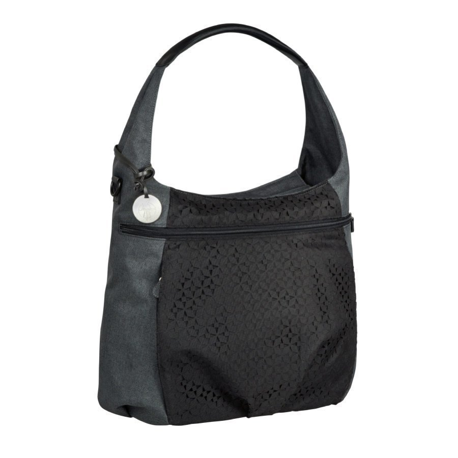 Lässig Hoitolaukku Casual Hobo Bag Black