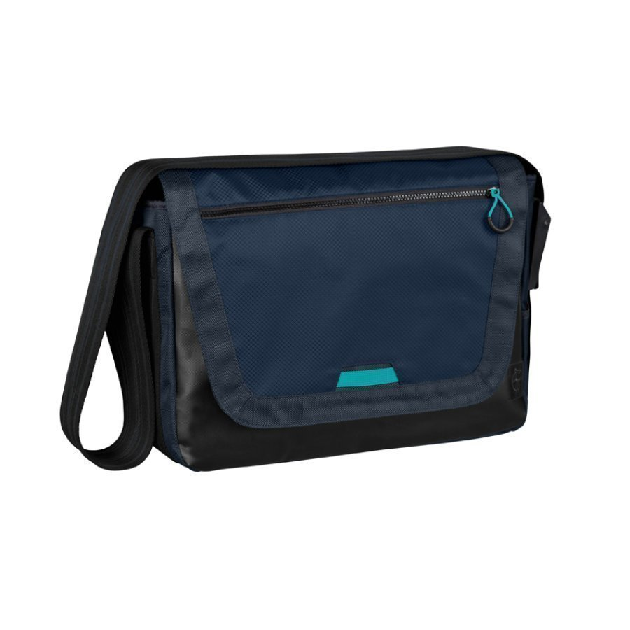 Lässig Hoitolaukku Casual Sporty Messenger Bag Navy