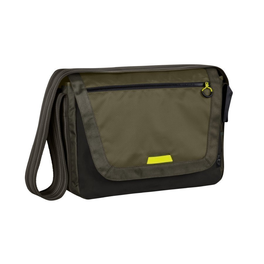 Lässig Hoitolaukku Casual Sporty Messenger Bag Olive