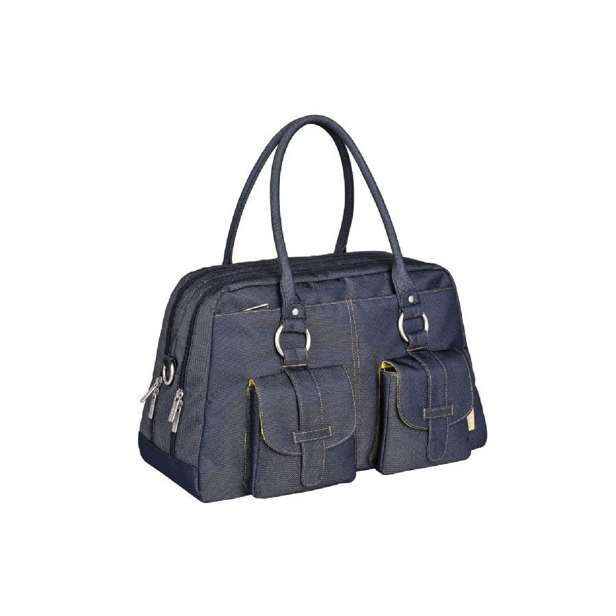 Lässig Hoitolaukku Green Label Metro Bag Denim Blue