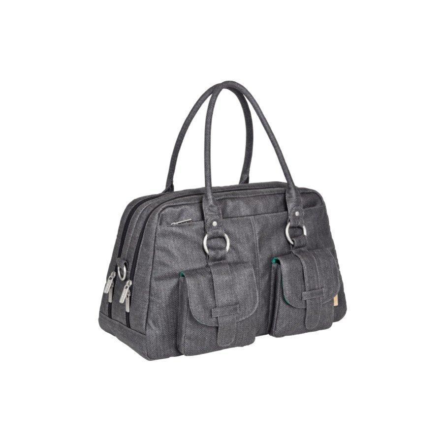 Lässig Hoitolaukku Vintage Metro Bag Twill Black