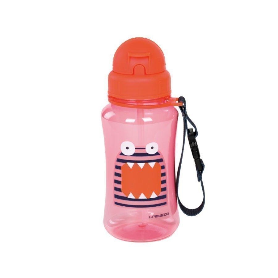 Lässig Juomapullo Little Monsters Mad Mabel Vaaleanpunainen / Oranssi