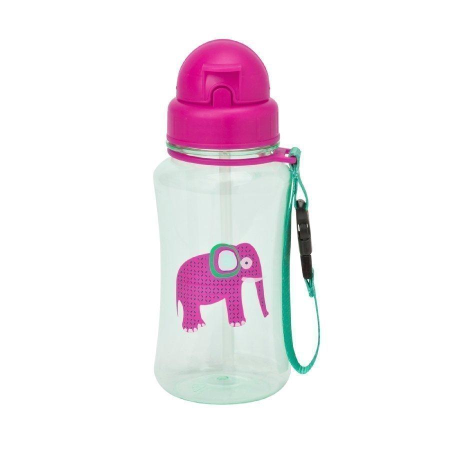 Lässig Juomapullo Wildlife Elephant Vaaleanpunainen