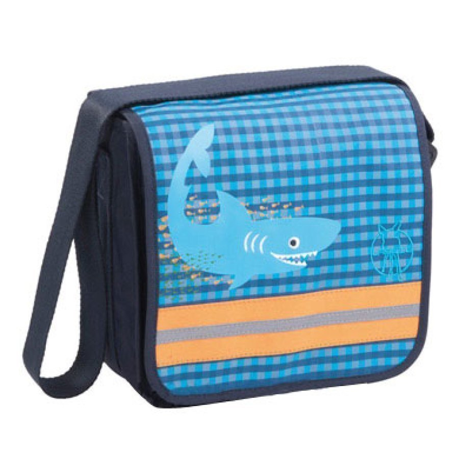 Lässig Laukku Mini Messenger Bag Classic Design Shark Ocean