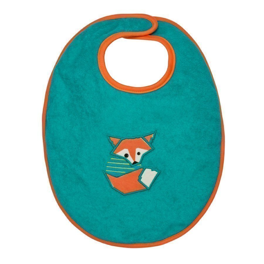 Lässig Ruokalappu Bib Medium Little Tree Fox