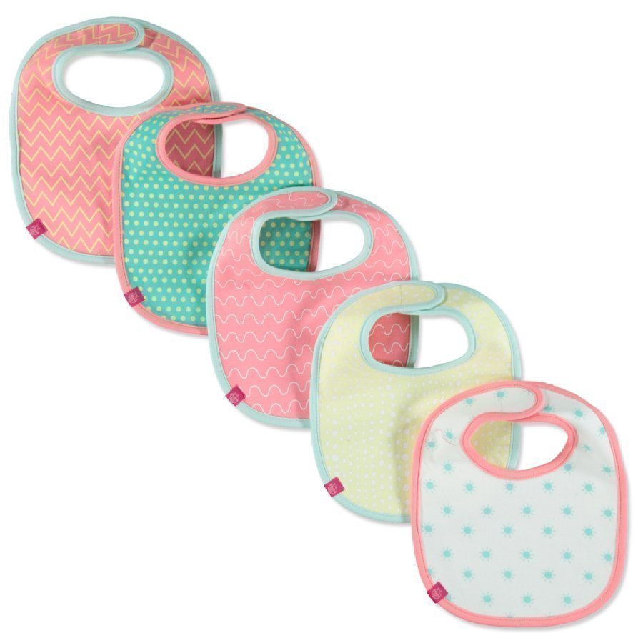 Lässig Ruokalappu Bib Value Pack Summer Dream Girls