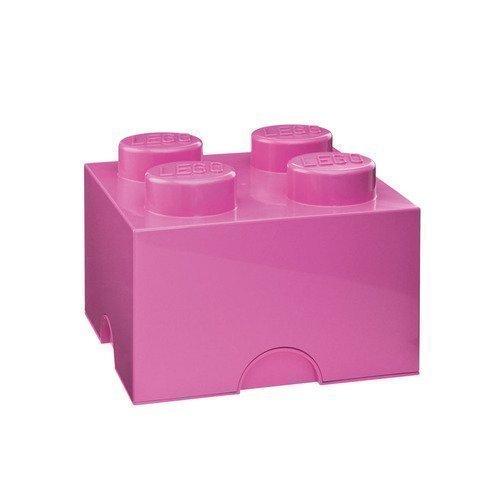 LEGO Säiltyslaatikko 4 Vaaleanpunainen