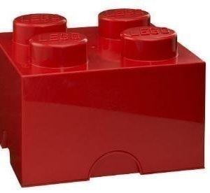 LEGO Säilytyslaatikko 4 Punainen