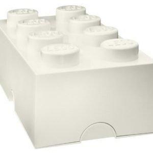 LEGO Säilytyslaatikko 8 Valkoinen