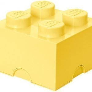 LEGO Säilytysrasia 4 Design Collection Cool Yellow