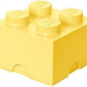 LEGO Säilytysrasia 4 Design Collection Cool Yellow