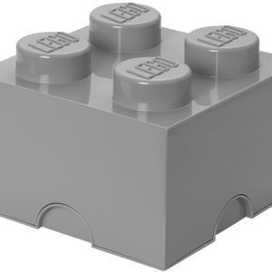 LEGO Säilytysrasia 4 Design Collection Stone Grey
