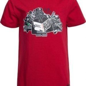 LEGO Wear T-paita Star Wars Timmy 650 Tummanpunainen