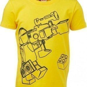 LEGO Wear T-paita Tony 616 Dark Yellow