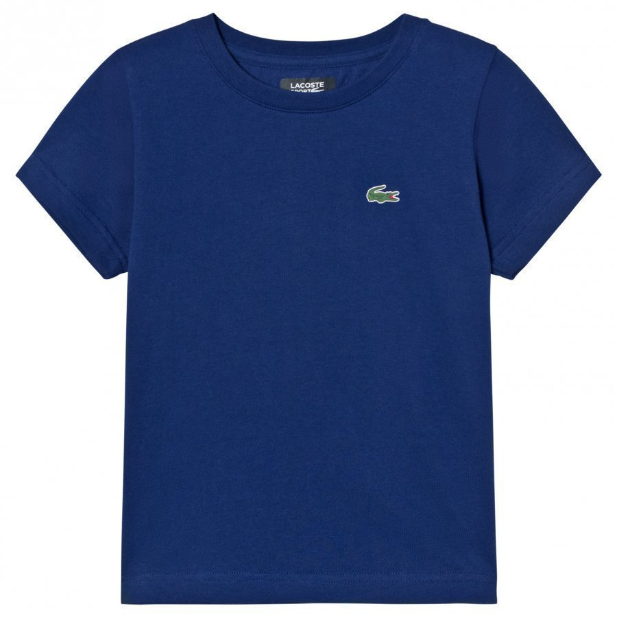 Lacoste Branded Ultradry Tee Dark Royal T-Paita
